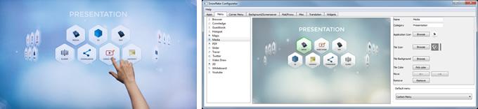 マルチタッチソフトの決定版 Nuiteq Snowflakeを搭載