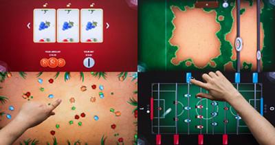 画面を分割して様々なアプリを同時に起動してマルチタッチを活用
