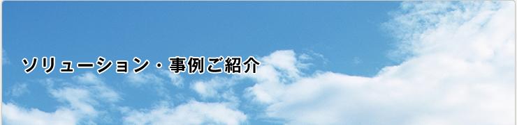 ソリューション・事例ご紹介